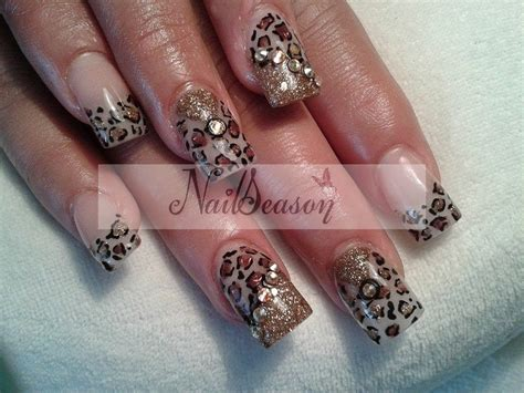 imagenes de uñas acrilicas atigradas dise 241 o de u 241 as animal print 2015 dise 241 o de u 241 as leopardo