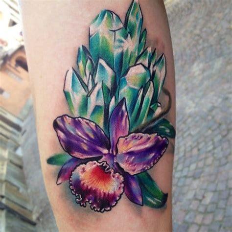 tattoo healing green 15 sparkling crystal tattoos tattoodo