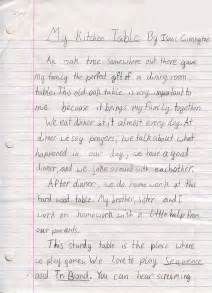 Essay For 3rd Class Student by Isaac Cunnington 1st Place Winner 3rd 5th Grade