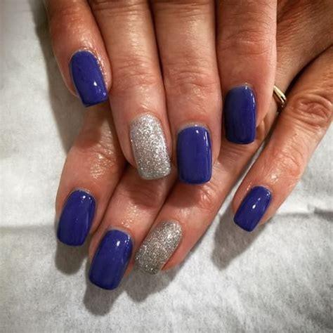 Deco Ongle Gel Bleu by Ongles En Gel Bleu Electrique