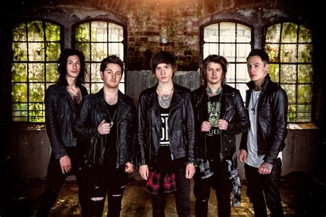Asking Alexandria New Band asking alexandria direct support to bullet for my