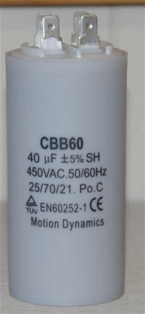 starter capacitor cbb60 40 194 181 f 500v ac start run capacitor cbb60