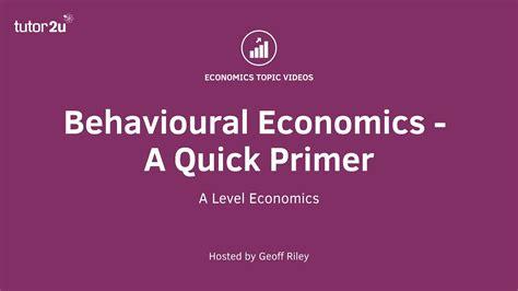 behavioural economics a very reference library tutor2u economics