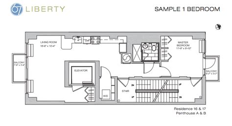 Narrow Floor Plans 67 liberty in financial district debuts teaser site