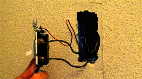 video how to easily replace or change a light switch