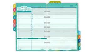 Sports Desk Calendar Day Timer 2016 Flavia 2 Page Per Day Planner Refill Desk
