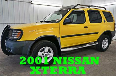 how to work on cars 2001 nissan xterra electronic valve timing buy used 2001 nissan xterra se 4x4 ready to work fun must see wow sporty nice in plymouth