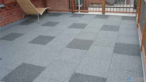 dachterrasse bodenbelag terrace balcony flooring by warco rubber tiles