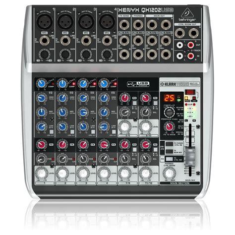Mixer Behringer Xenyx Qx1202usb behringer xenyx qx1202usb usb mixer at gear4music