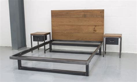 bett industrial the blacksmith bed steel vintage industrial furniture