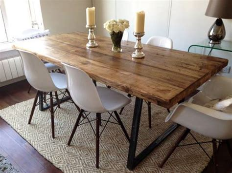 plank kitchen table 25 best ideas about dining tables on
