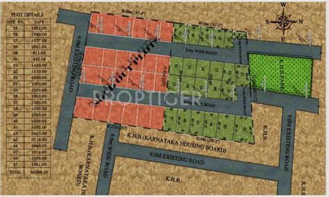 layout plan of surya nagar phase 2 kritan surya city phase ii in anekal city bangalore