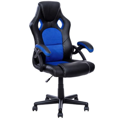 Leather Executive Office Chair Design Ideas Giantex Pu Leather Executive Seat Racing Style Office Chair Home Furniture Design