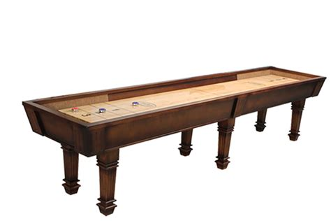 Mcclure Tables by 14 Foot Huntington Shuffleboard Table Mcclure Tables