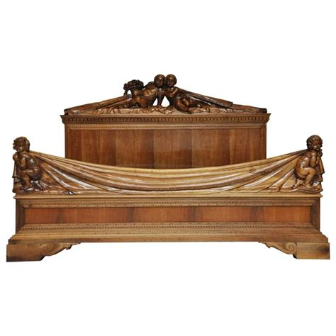 venetian bed frame 19th century venetian walnut bed for sale at 1stdibs