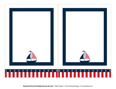 Nautical Card Template by Free Printable Nautical Labels Search