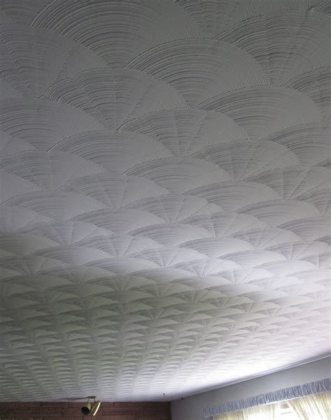 Plaster Ceiling Texture Patterns by At An Estate Sale Second Roses