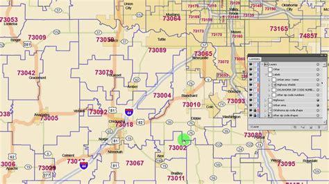 zip code map edmond ok oklahoma city ok zip code map wisconsin map