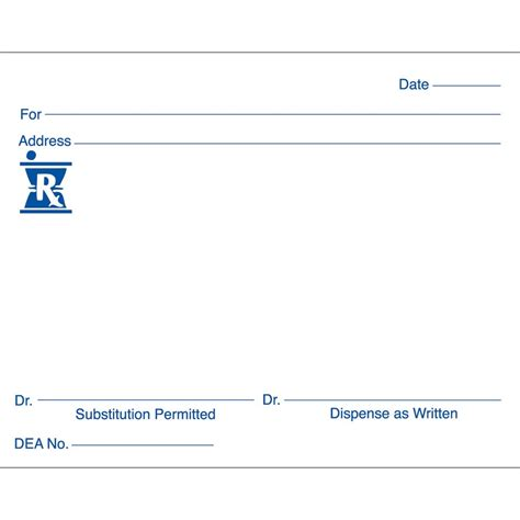26 images of blank prescription form doctor template