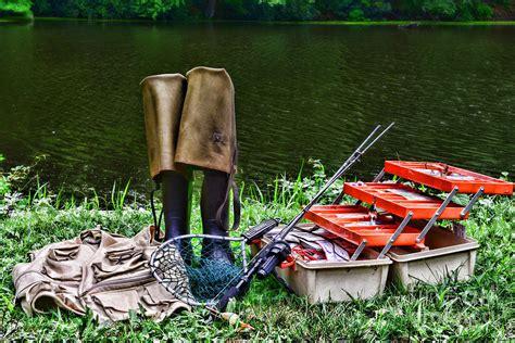 Fishing Tackle Giveaway - fishing fishing tackle photograph by paul ward
