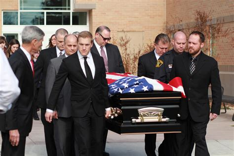 lockhart funeral spotlights as