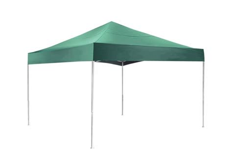 Canopy Opening Shelterlogic 12 X 12 Green Pop Up Canopy Tent With Open