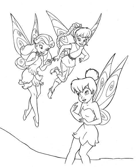 Tinkerbell And Friends Colouring Pages Tinkerbell And Friends Coloring Pages by Tinkerbell And Friends Colouring Pages