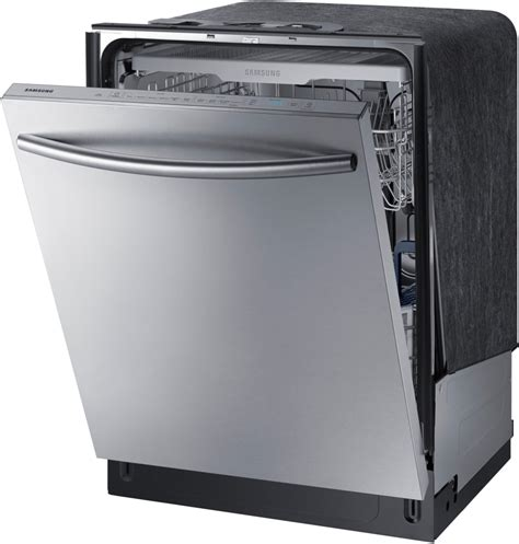 Samsung Dishwasher Samsung Dw80k7050us Fully Integrated Dishwasher With 3rd Rack Stormwash System Flexload