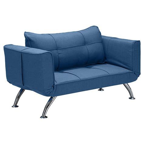 modern loveseat sleeper trace modern blue loveseat sleeper eurway furniture