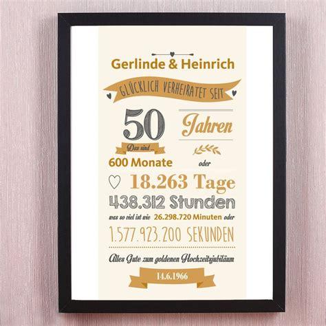Geschenk Goldene Hochzeit by 14 Best Geschenke Zur Goldenen Hochzeit Images On
