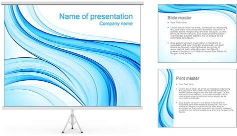 Blue Style Design Powerpoint Template Backgrounds Id 0000002412 Smiletemplates Com Digital Smile Design Powerpoint Template