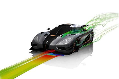 koenigsegg  aerodinamica periodismo del motor