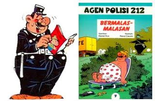 Agen Polisi 212 dunia komik agen polisi 212 quot bermalas malasan quot