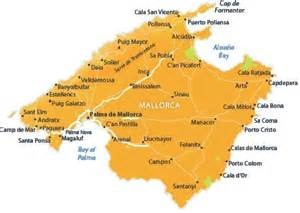 Mallorca World Map by Puerto Pollensa Map With Location In Majorca