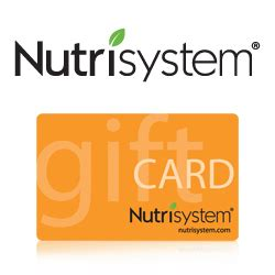 Nutrisystem Gift Card Deals - cheap nutrisystem gift cards coupon for nutrisystem