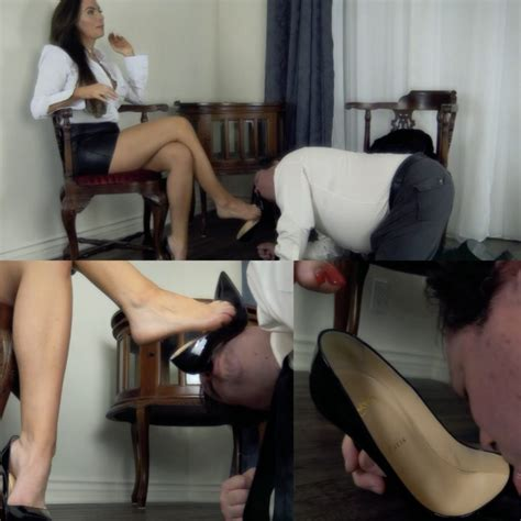 Office Foot Worship by Clip Review Leggy Lawyer Humiliates Him Featuring