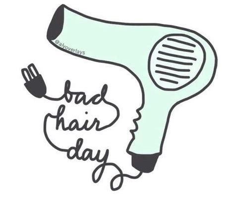 Hairdryer Emoji hair day overlays and we it on