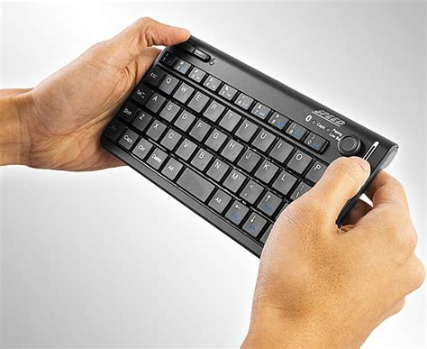 Blue Marvel Original Bluetooth Headset mini keyboard with built in mouse and touch scroll