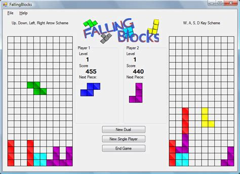 simple visual basic games basics of a falling blocks game in vb net 2005 codeproject