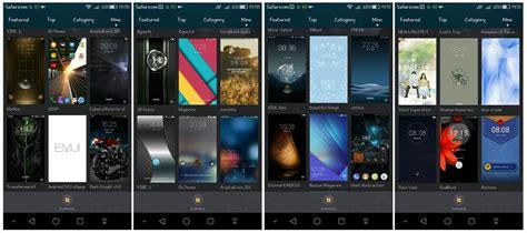 huawei themes collection jak pobierać i instalować dodatkowe motywy w smartfonach