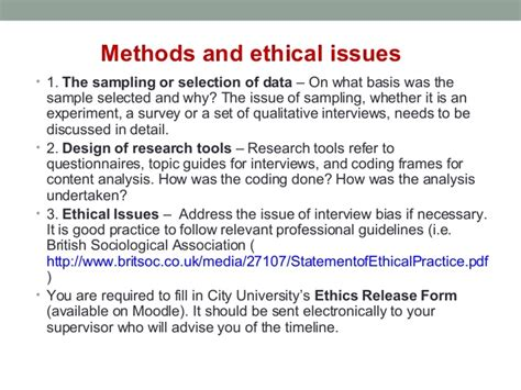 ethical issues dissertation ug dissertation workshop 2013