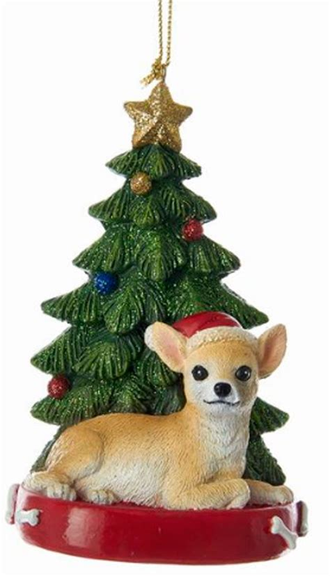 chihuahua christmas tree ornaments princess decor