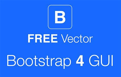 bootstrap 4 ui design system bypeople free bootstrap 4 gui pack vector titanui
