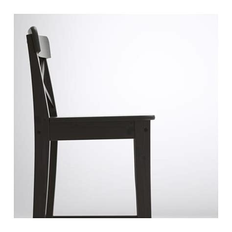 Ingolf Bar Stool With Backrest Brown Black by Ingolf Bar Stool With Backrest Brown Black 74 Cm Ikea
