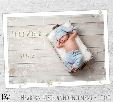 Birth Announcement Template Baby Boy Birth Announcement Baby Boy Birth Announcement Template