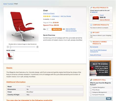 product layout magento magento project guidelines for designers