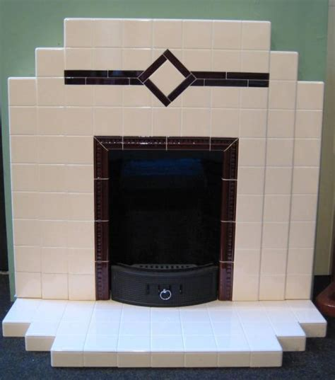 Deco Tiled Fireplaces by Deco1920 1930s Fireplaces For Sale By Britain S Heritage