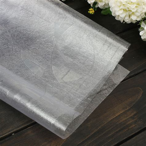 film paper 90 50cm 3d static cling stained glass film paper frosted