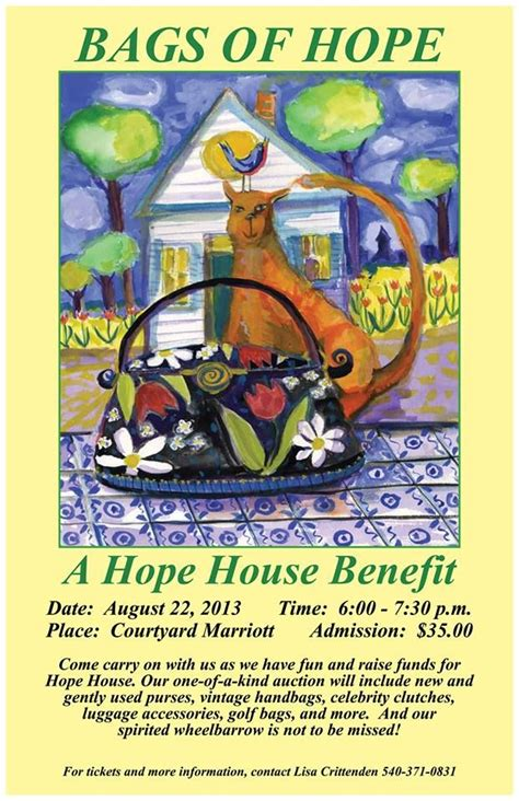 hope house fredericksburg va join us on august 22nd for our bags of hope event