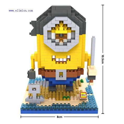 Brick Lego Nano Blocks Minion loz blocks minions